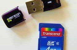 Phương tiện lưu trữ dữ liệu vào usb và sd