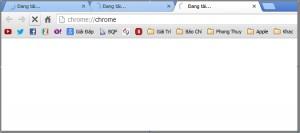 hống treo tab trên trình duyệt Chrome
