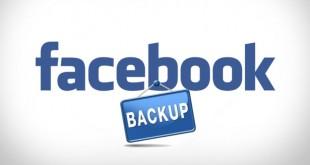 sao lưu dữ liệu tài khoản facebook