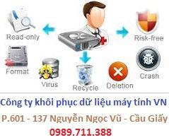cứu dữ liệu bị mất trong USB