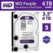hdd wd purple chuyên sử dụng cho đầu thu camera