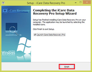 Hướng dẫn cài đặt phần mềm icare data recovery pro