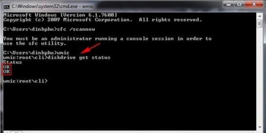 check tình trạng hoạt động ổ HDD