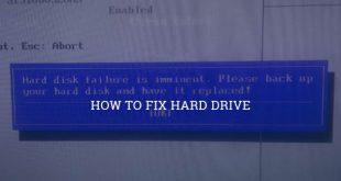 Sửa lỗi ổ cứng HDD